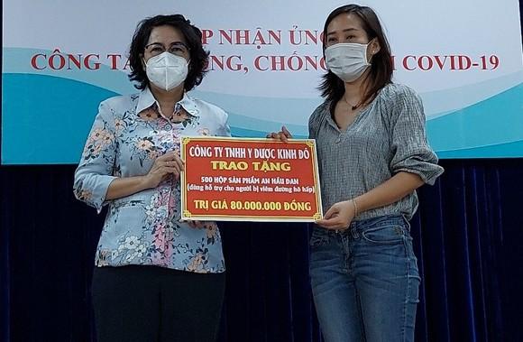 TPHCM tiếp nhận nhu yếu phẩm, vật tư, trang thiết bị y tế chống dịch Covid-19 ảnh 3