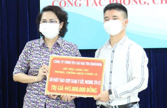 TPHCM tiếp nhận thuốc, vật tư y tế phòng, chống dịch Covid-19 ảnh 2