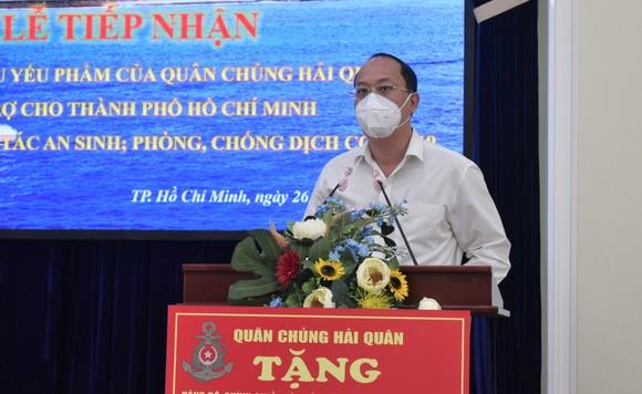 TPHCM tiếp nhận 25 tỷ đồng và 135 tấn gạo ủng hộ phòng chống dịch  ảnh 2