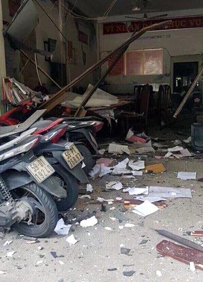 Vụ nổ trước trụ sở Công an phường 12, quận Tân Bình: Bắt giữ nhóm đối tượng ảnh 2