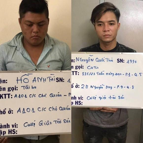 Bắt nhóm cướp giật tài sản gây ra khoảng 30% các vụ án ở trung tâm TPHCM ảnh 1
