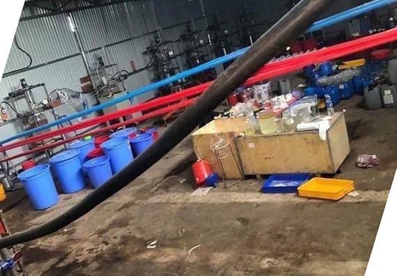Khởi tố, bắt tạm giam nhóm người Trung Quốc trong đường dây sản xuất ma túy lớn nhất cả nước ảnh 3