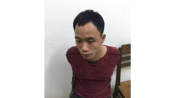 Đối tượng Nguyễn Hữu Việt lúc bị bắt