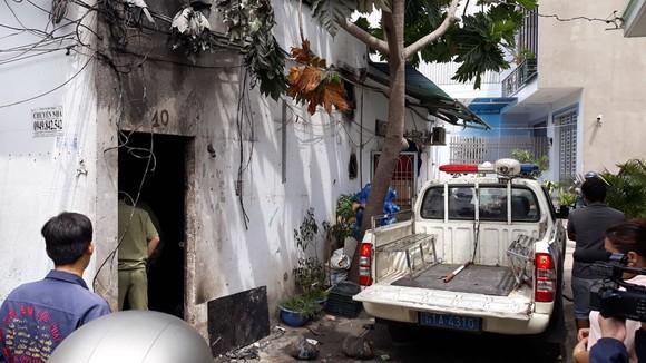 Hiện trường vụ cháy làm 3 người tử vong