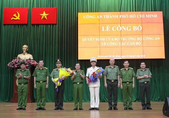 Đại tá Lê Hồng Nam giữ chức vụ Giám đốc Công an TPHCM từ ngày 1-7-2020 ảnh 2