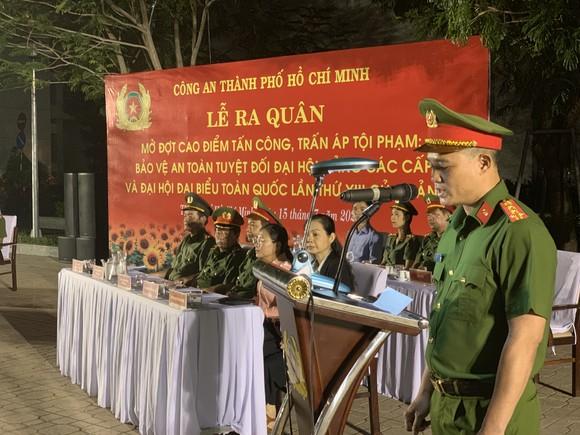 Công an TPHCM tổ chức ra quân tấn công trấn áp tội phạm ảnh 2