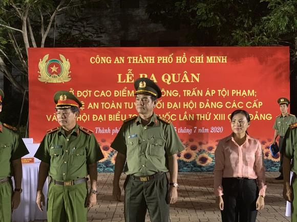 Công an TPHCM tổ chức ra quân tấn công trấn áp tội phạm ảnh 1