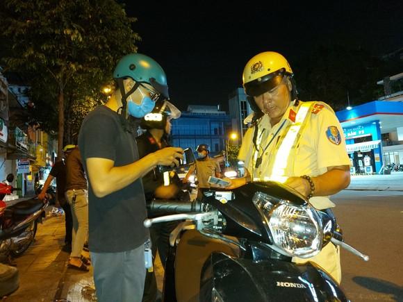 CSGT TPHCM mở cao điểm bảo đảm trật tự an toàn giao thông, trật tự xã hội ảnh 1