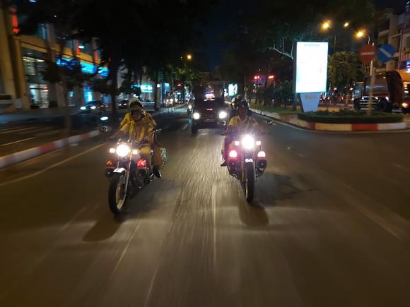 CSGT TPHCM mở cao điểm bảo đảm trật tự an toàn giao thông, trật tự xã hội