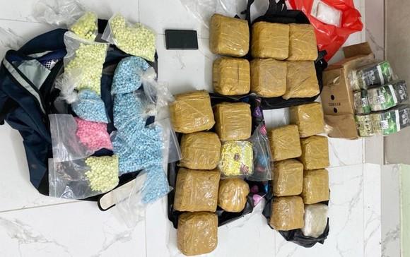 Lào triệt phá vụ vận chuyển ma túy lớn