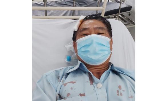 Nạn nhân điều trị ở bệnh viện