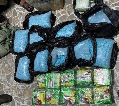 Triệt phá 3 đường dây ma tuý từ Campuchia về TPHCM, thu giữ hơn 200kg ma túy các loại ảnh 1