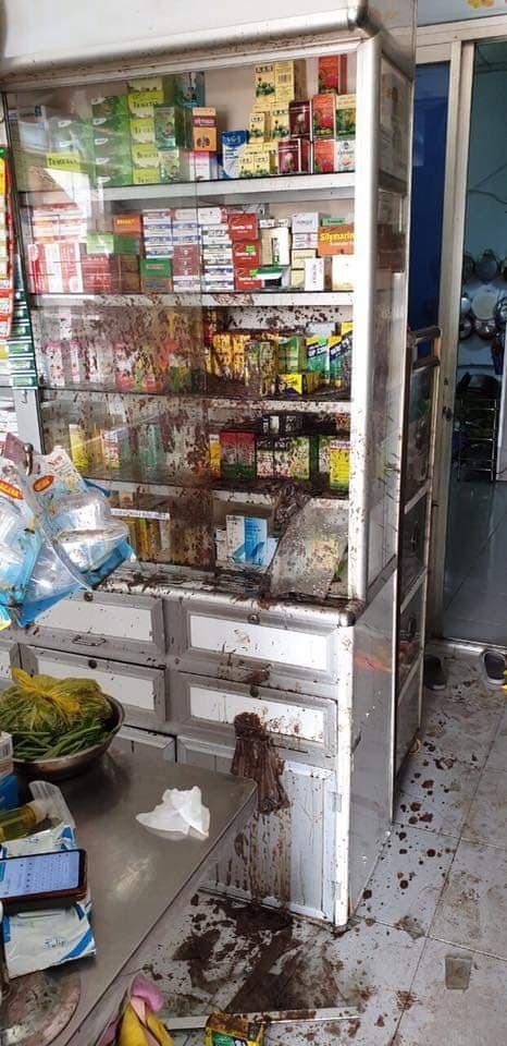 Khởi tố 2 vợ chồng thuê 'giang hồ' tạt chất bẩn, mắm tôm vào tiệm thuốc tây ở quận 8 ảnh 2