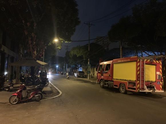 Cháy bãi giữ xe vi phạm giao thông ở TP Thủ Đức ảnh 1