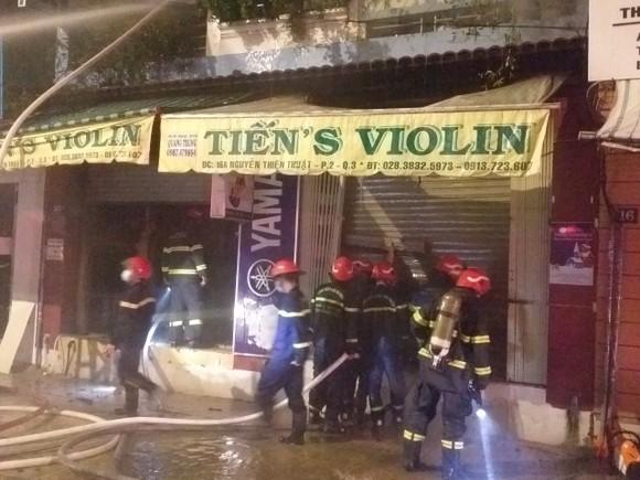 Vụ cháy nhà ở đường Nguyễn Thiện Thuật khiến hai người tử vong ảnh 1