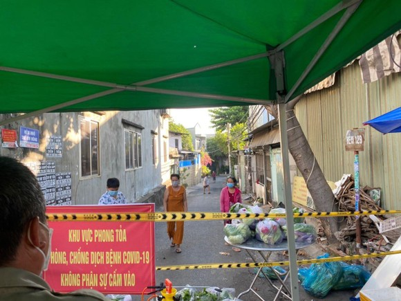 Phong tỏa tạm thời khu phố 4, phường Tăng Nhơn Phú A, TP Thủ Đức với 7.067 nhân khẩu ảnh 1