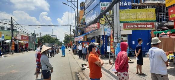 Phong tỏa tạm thời khu phố 8, phường Hiệp Bình Chánh, TP Thủ Đức với 13.000 nhân khẩu ảnh 1