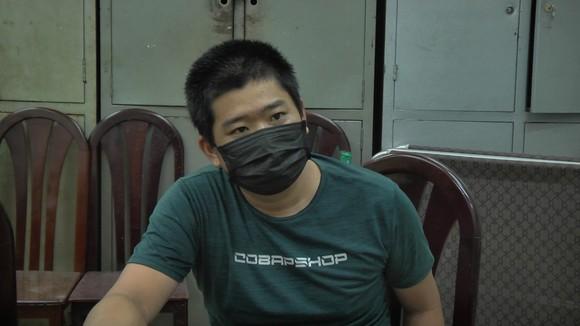 Nguyễn Phú Thịnh tại cơ quan công an