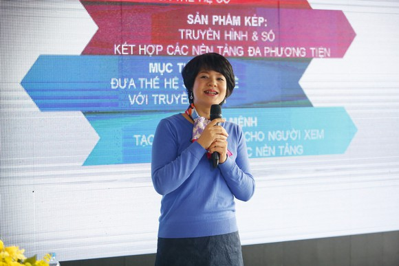 MC Diễm Quỳnh giới thiệu định vị mới của VTV6
