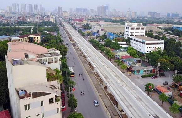 Đường sắt đô thị Nhổn - ga Hà Nội dự kiến khai thác trước 8,5km từ năm 2020 ảnh 1