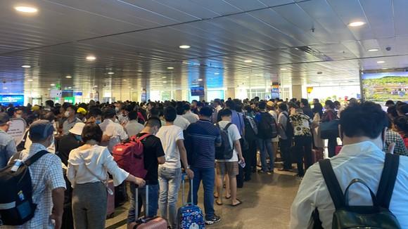 Khắc phục ùn ứ tại khu vực soi chiếu an ninh sân bay Tân Sơn Nhất  ảnh 1