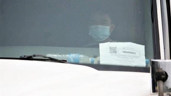 Mã QR sau khi được cấp sẽ được in ra dán lên kính xe