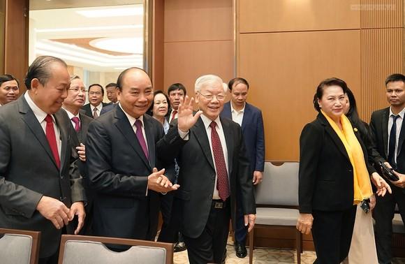 Tổng Bí thư, Chủ tịch nước Nguyễn Phú Trọng dự hội nghị trực tuyến của Chính phủ ảnh 1