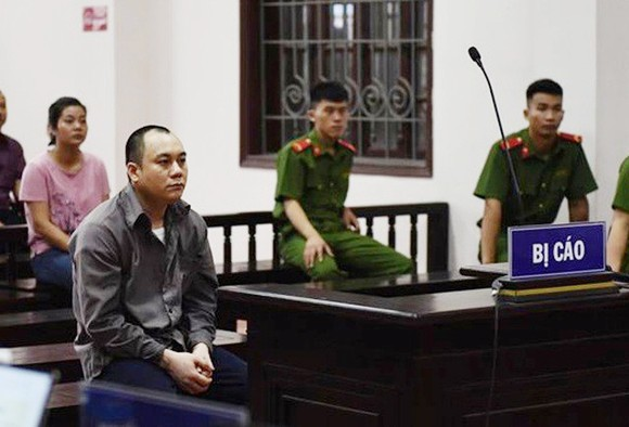 Bị cáo Lê Ngọc Hoàng tại tòa