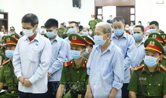Chiều 14-9, Tòa án Nhân dân TP Hà Nội tuyên án vụ án Đồng Tâm. Ảnh: TTXVN