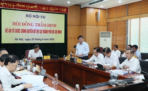 Hội đồng thẩm định thông qua Đề án Tổ chức chính quyền đô thị tại TPHCM ảnh 2