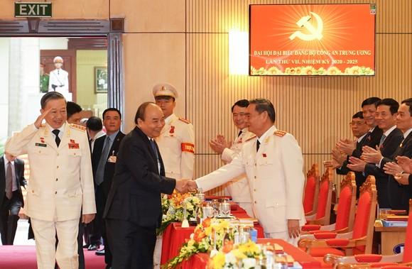 Thủ tướng Nguyễn Xuân Phúc dự Đại hội đại biểu Đảng bộ Công an Trung ương lần thứ VII ảnh 1