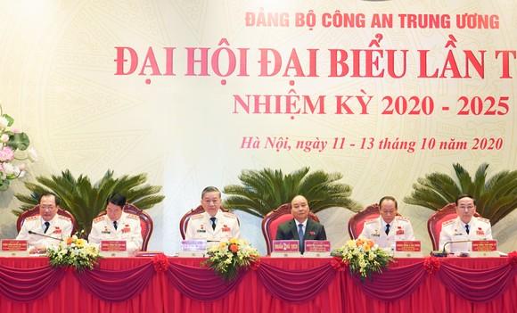 Thủ tướng Nguyễn Xuân Phúc dự Đại hội đại biểu Đảng bộ Công an Trung ương lần thứ VII ảnh 3