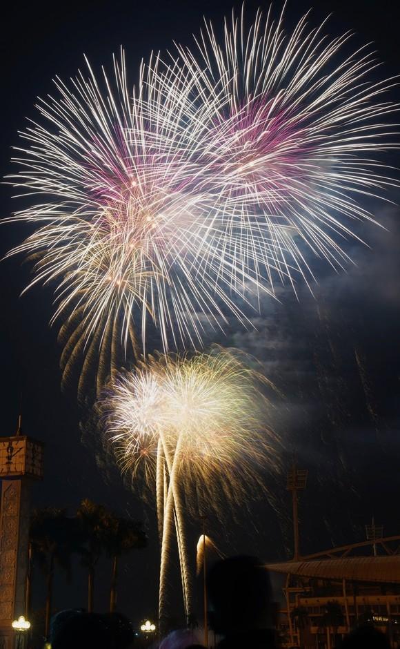 Mãn nhãn với màn pháo hoa chào đón năm mới tại Hà Nội ảnh 8