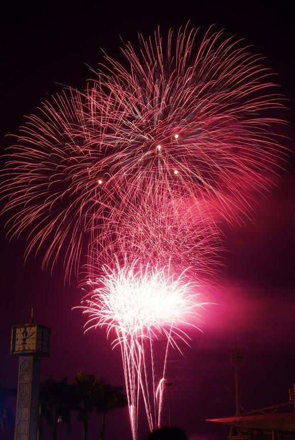 Mãn nhãn với màn pháo hoa chào đón năm mới tại Hà Nội ảnh 9