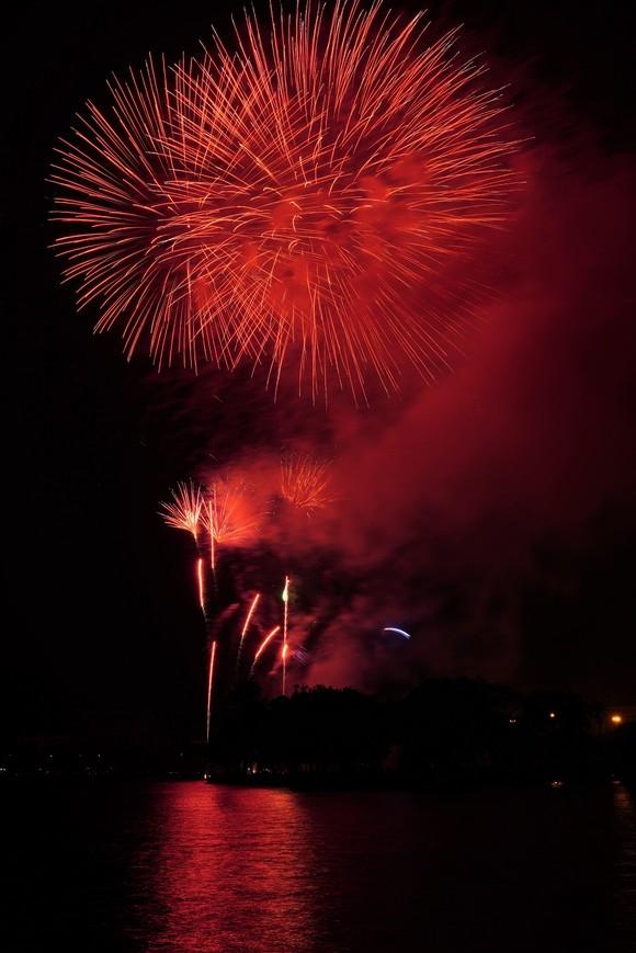 Màn pháo hoa tầm cao chào năm mới duy nhất ở Hà Nội ảnh 8