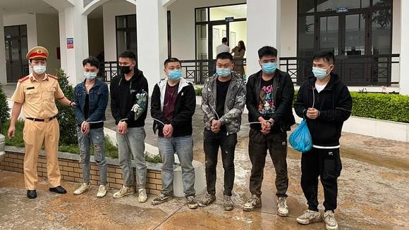 Nhóm đối tượng 6 người nước ngoài nhập cảnh trái phép bị phát hiện