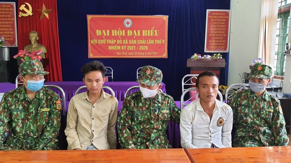 Hai đối tượng bị bắt giữ