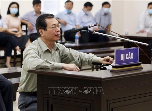 Ông Vũ Huy Hoàng trút lời 'gan ruột' trước khi tòa tuyên án ảnh 1