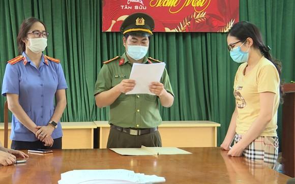 Nguyễn Thị Hồng Hạnh tại cơ quan điều tra