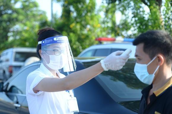 22 chốt kiểm soát dịch ở Hà Nội bắt đầu hoạt động, không xảy ra ùn ứ  ảnh 4