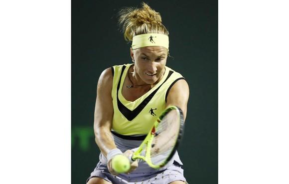 """Svetlana Kunetsova vừa lên tiếng """"vạch trần"""" Eugenie Bouchard."""
