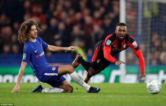 Ethan Ampadu tiếp tục ghi dấu ấn trong màu áo Xanh của Chelsea