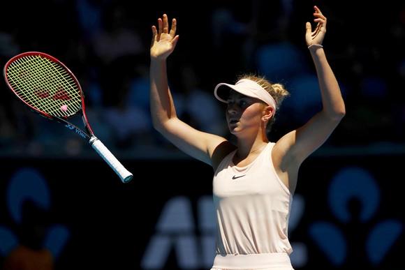 Sự tươi tắn của Marta Kostyuk gợi nhớ đến Martina Hingis