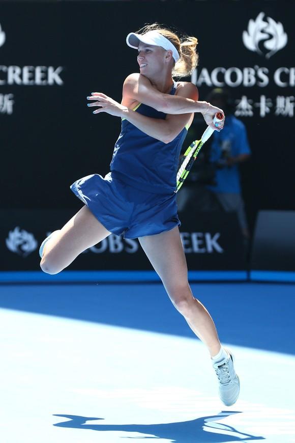 Australian Open 2018: Cilic vào chung kết đơn nam, Halep gặp Wozniacki ở chung kết đơn nữ ảnh 4