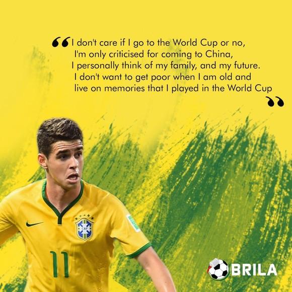World Cup 2018: Mải kiếm tiền, Oscar không màng đến đội tuyển Brazil? ảnh 1