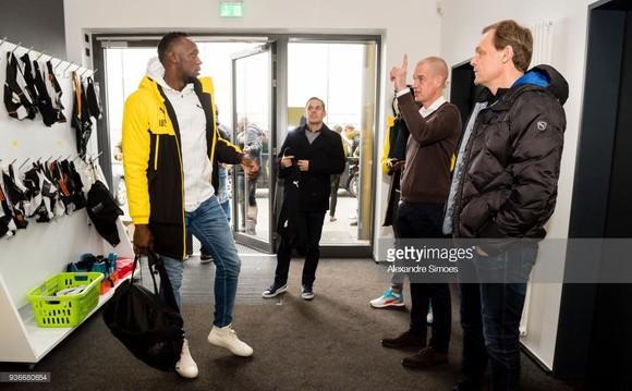 Usain Bolt: Đang tập luyện cùng Borussia Dortmund trong ngày hôm nay ảnh 3