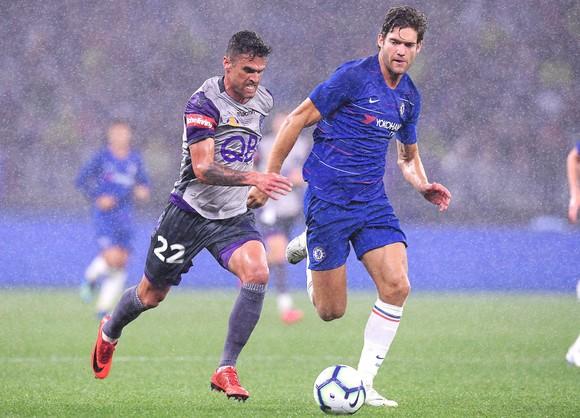 """Thắng Perth 1-0: Chelsea phiên bản """"người lạ ơi"""" ảnh 5"""