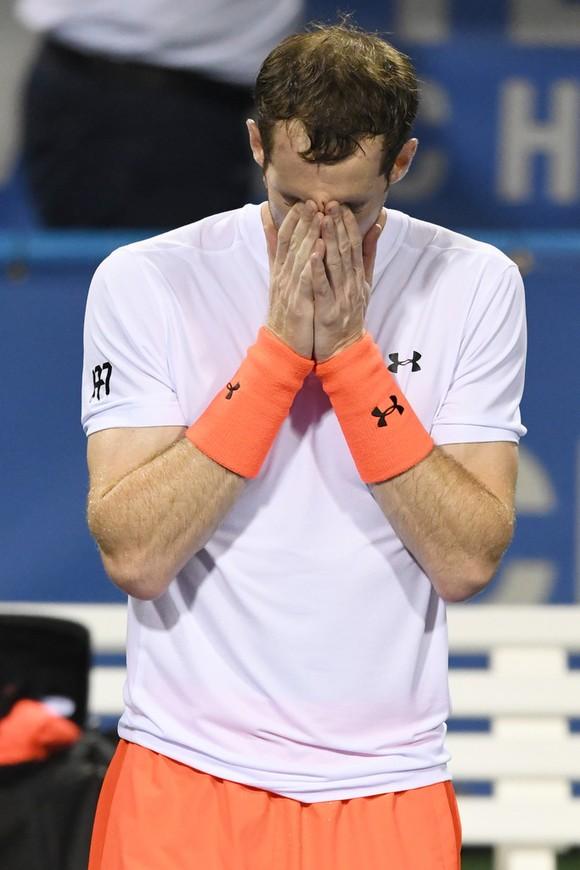 """Citi Open 2018: Vỡ òa trong nước mắt, Murray lọt vào vòng """"bát cường"""" ảnh 1"""