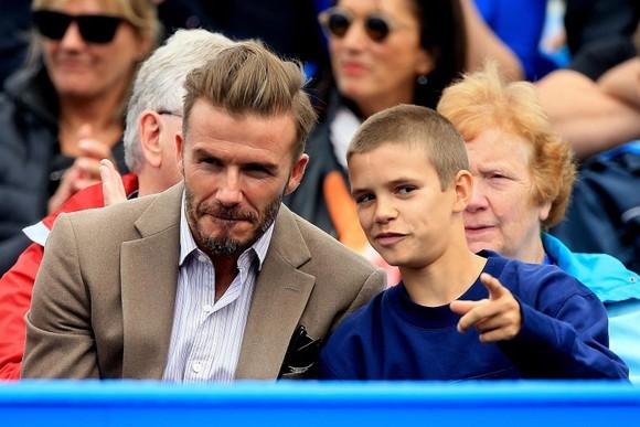 Vợ của Beckham xây sân tập 30 ngàn Bảng cho con trai Romeo ảnh 2