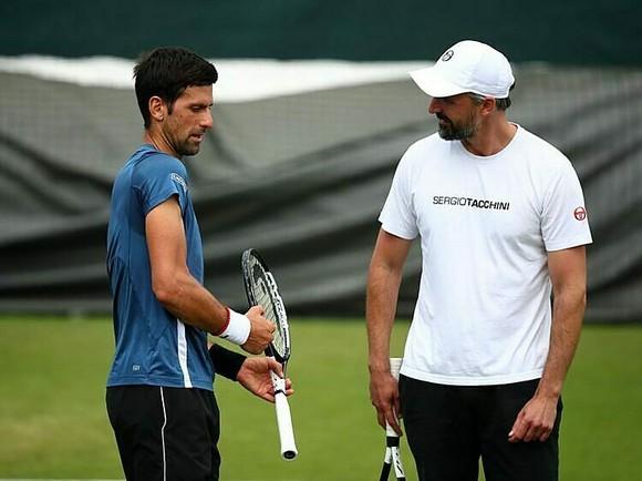 Ivanisevic và Djokovic